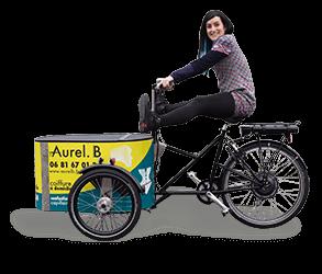 coiffure à domicile en vélo triporteur Nantes